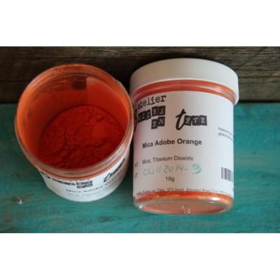Mica Adobe-orange 10g
